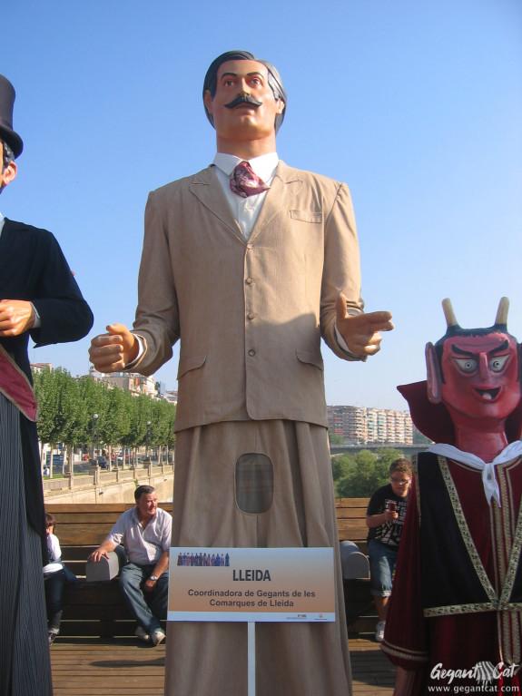 Gegant de la Coordinadora de Geganters i Grallers de les Terres de Lleida