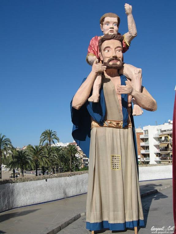 Gegant de l'IES Joan Ramón Benaprès de Sitges