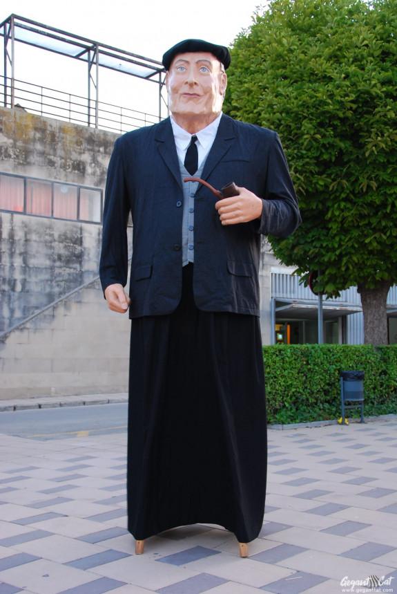 Gegant Ramon de la Pipa de Santa Coloma de Queralt