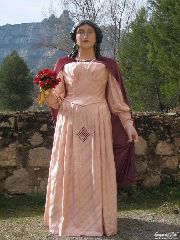 Geganta del Carrer Viserta de Monistrol de Montserrat