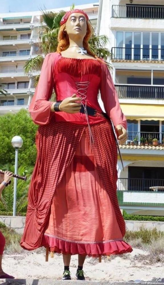Geganta Lluna Roja de Miami Platja
