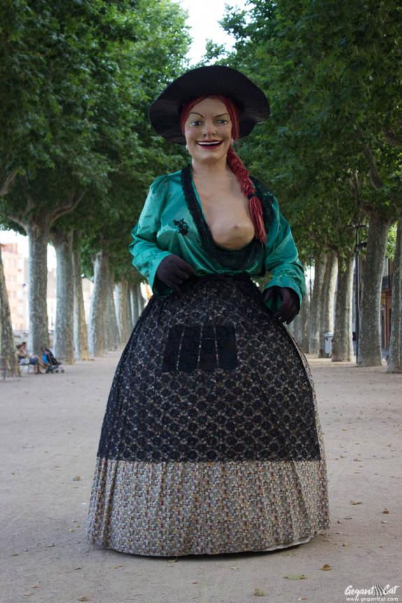 Geganta Rigoberta de la Bisbal d'Empordà