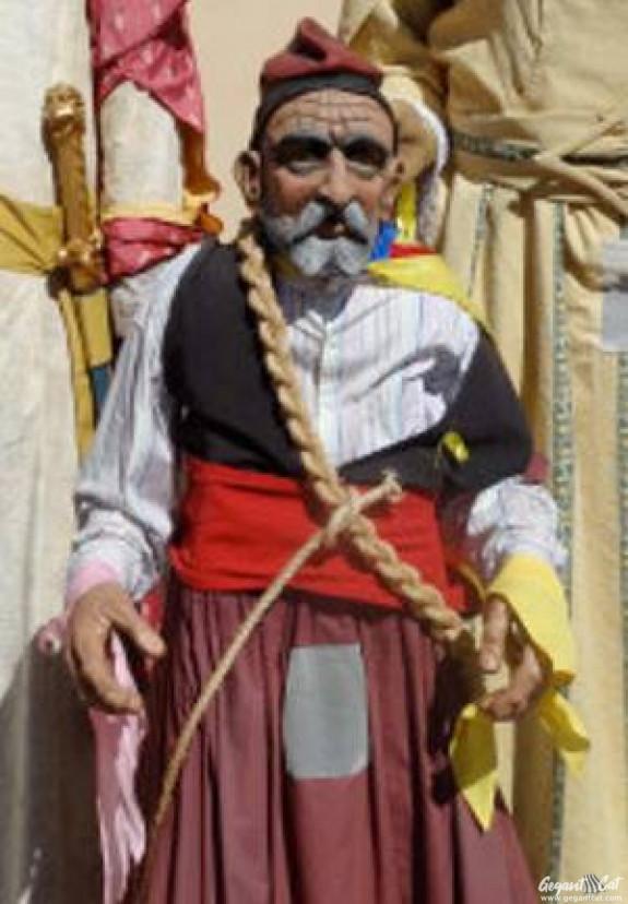 Gegantó de Torroella de Montgrí