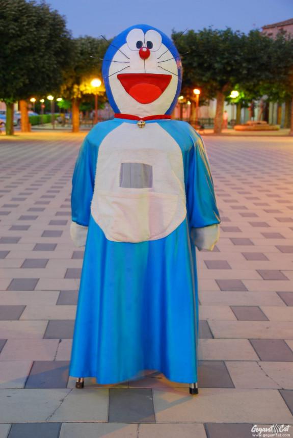Gegantó Doraemon de Santa Coloma de Queralt