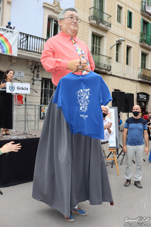 Gegantó Torres de la Festa Major de Gràcia