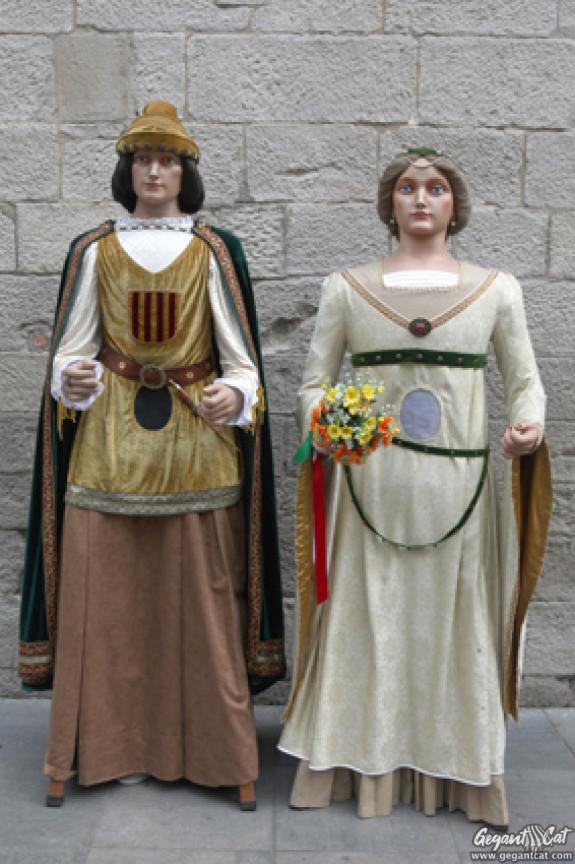 Gegantons de la Paeria de Lleida