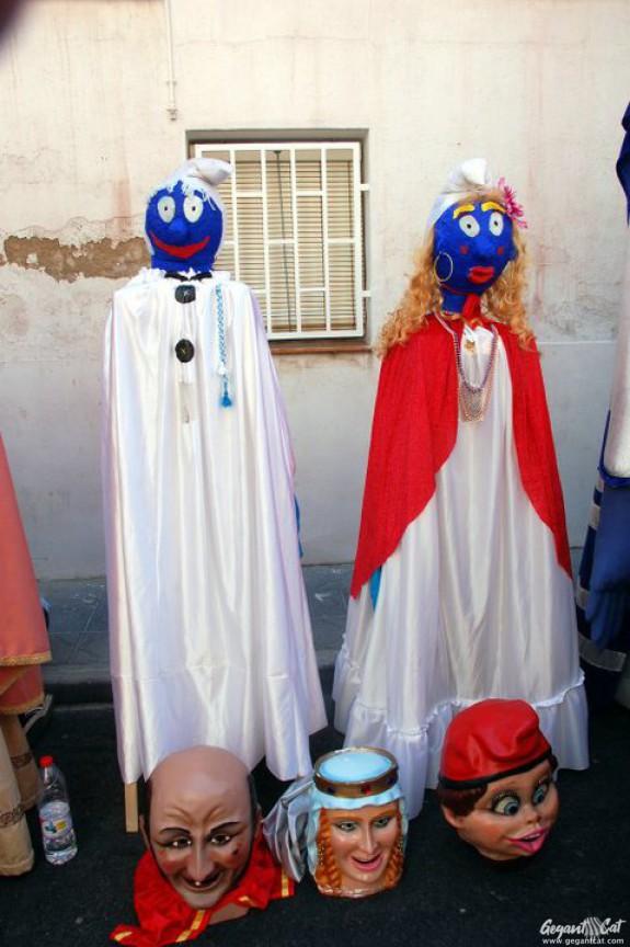 Gegantons del Passeig de les Palmeres de Tarragona