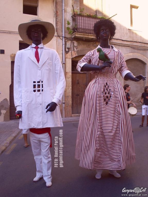 Gegantons Negritos de Tarragona