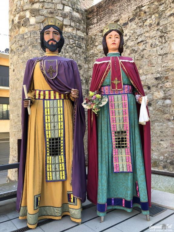 Gegants bizantins de Caldes de Malavella