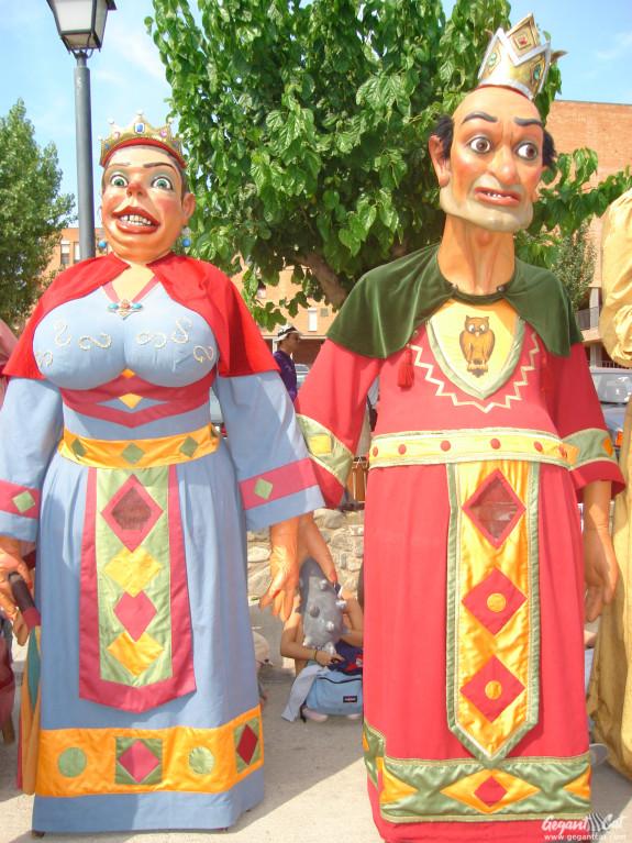 Gegants Bojos del Carnaval de Solsona