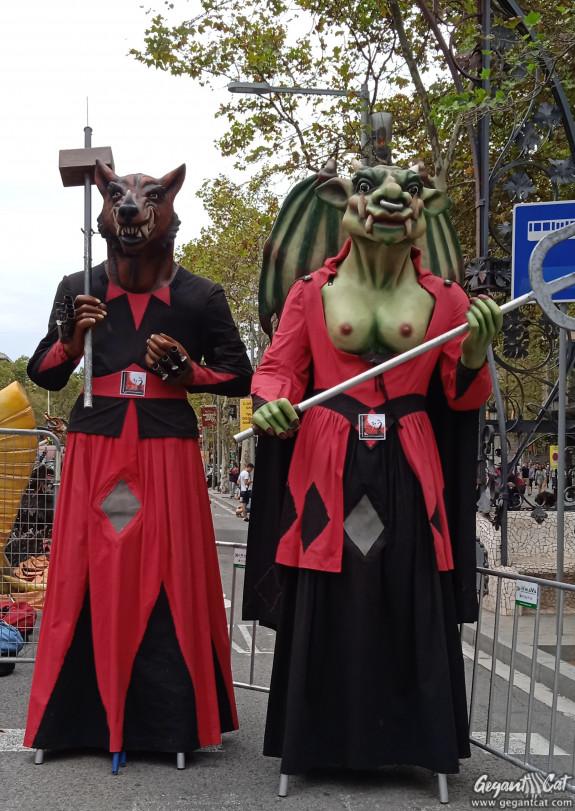 Gegants de la Coordinadora de Colles de Diables de Barcelona