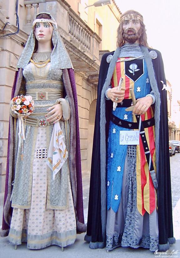 Gegants de La Granada