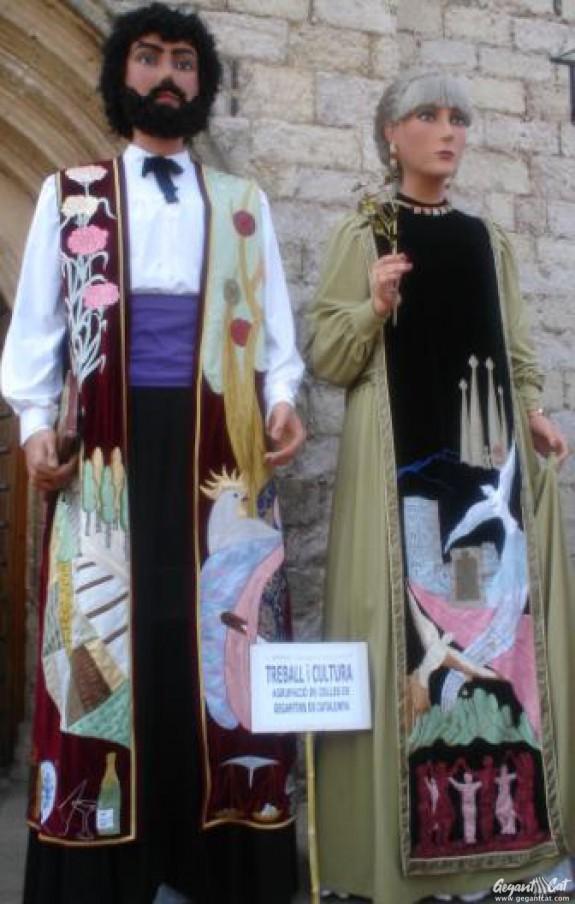 Gegants de l'Agrupació de Colles de Geganters de Catalunya