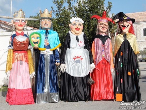 Gegants de Llucmaçanes-Maó (comparsa de Carnaval)