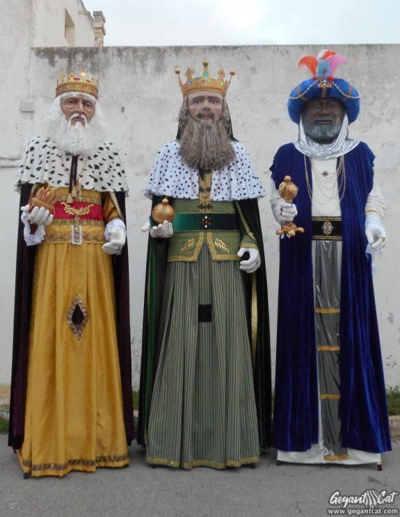 Gegants de Llucmaçanes-Maó (Reis Mags)
