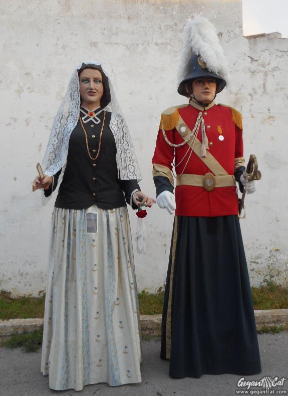 Gegants de Llucmaçanes-Maó (Toni es Saig i na Tònia de la Sala)