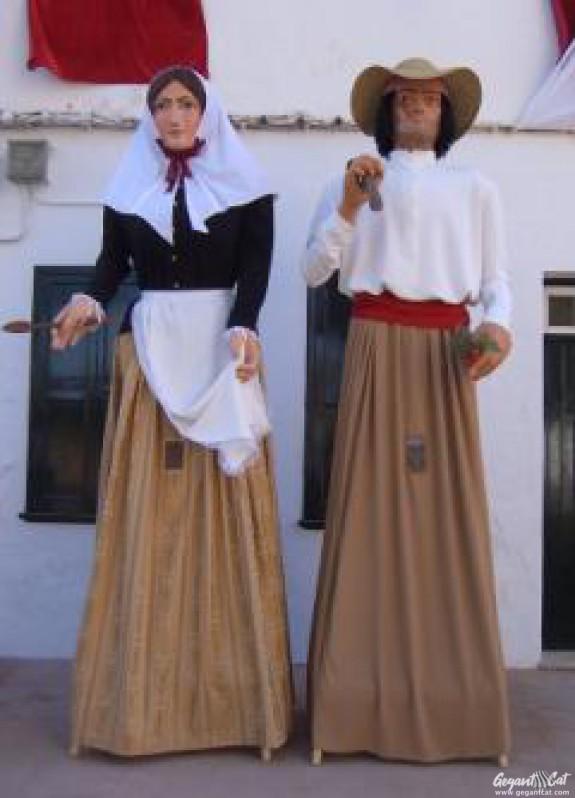 Gegants de Llucmaçanes-Maó