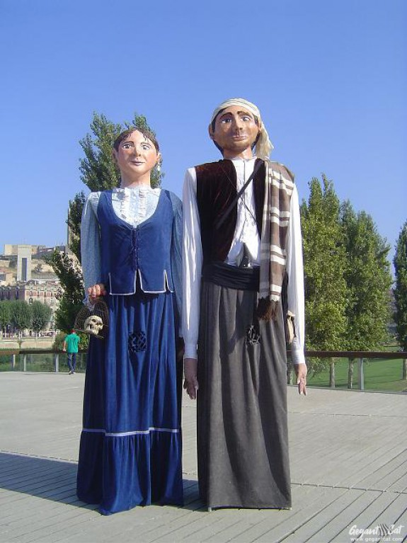 Gegants de Montoliu de Lleida
