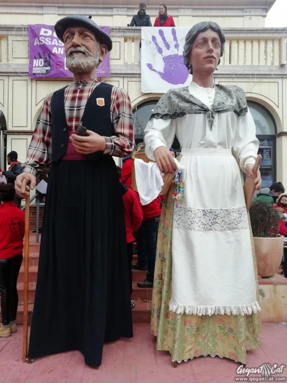 Gegants de Sant Antoni de Vilamajor