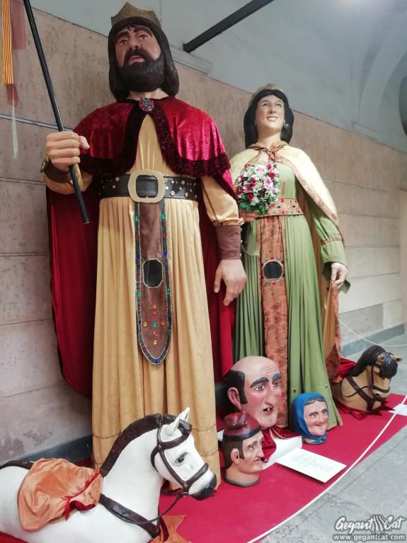 Gegants de Sant Cristòfol i Mas Bernat, d'Olot