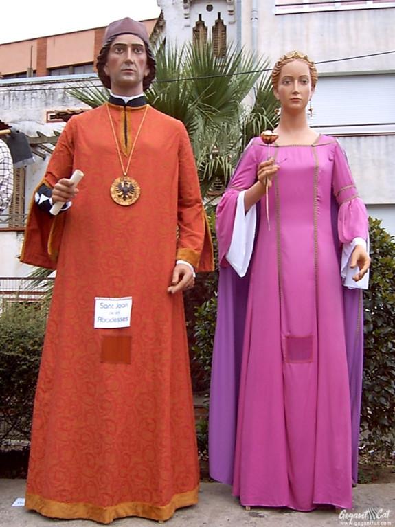 Gegants de Sant Joan de les Abadesses