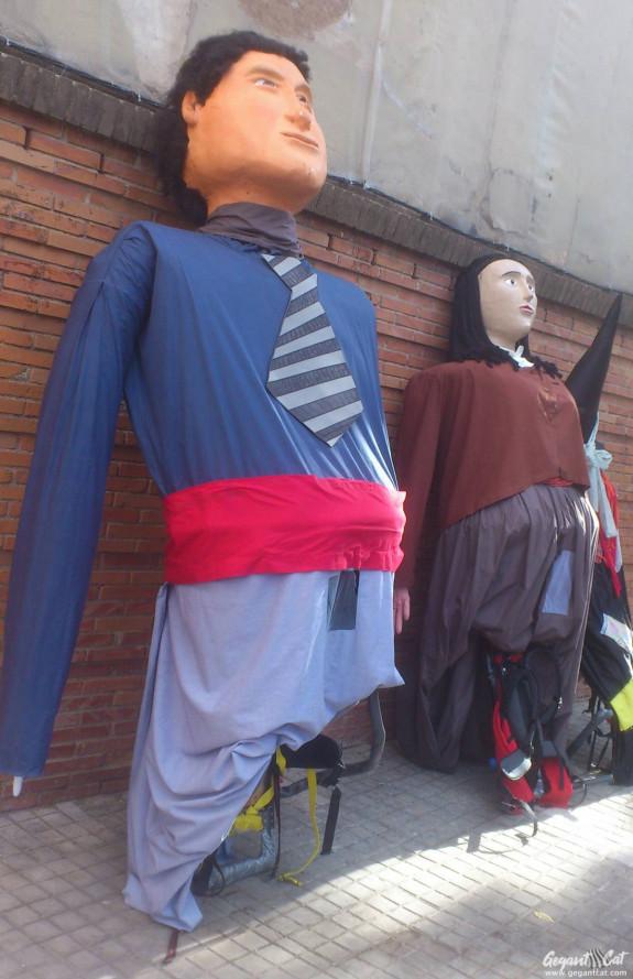 Gegants de Sant Josep Manyanet (Sant Andreu)