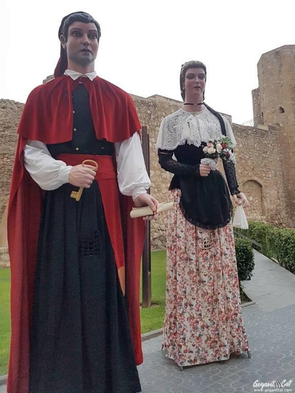 Gegants de Sant Pere i Sant Pau (Tarragona)