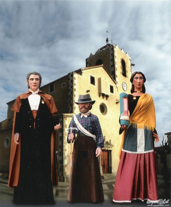 Gegants de Sant Vicenç de Montalt