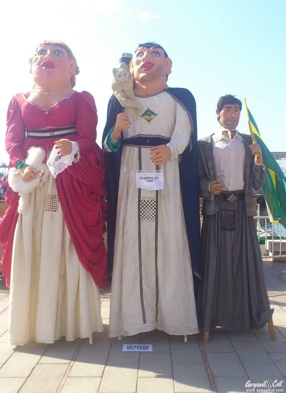 Gegants de Vilanova del Camí