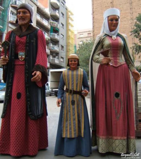 Gegants del Barri del Clot de Barcelona