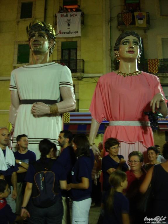 Gegants del Barri del Miracle de Tarragona