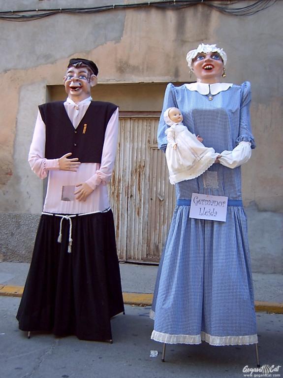 Gegants del Barri Germanor de Lleida