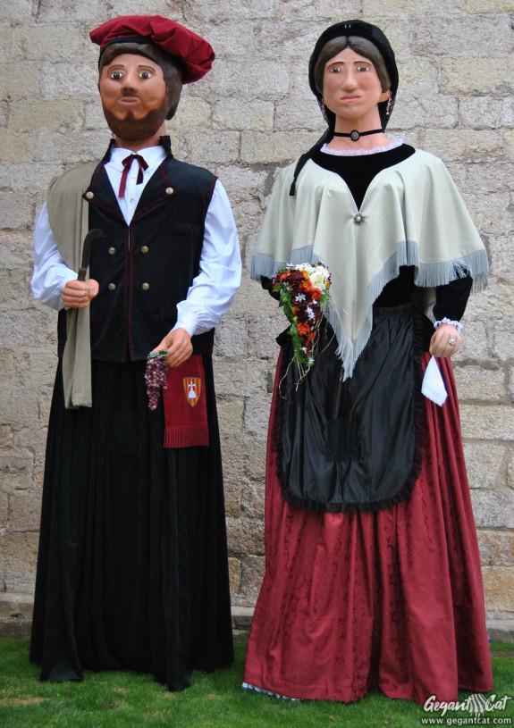 Gegants del Barri Montserrat · Amics dels Gegants Montblanc