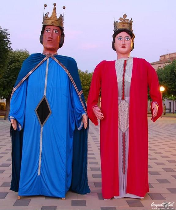 Gegants del Carrer Major de Santa Coloma de Queralt