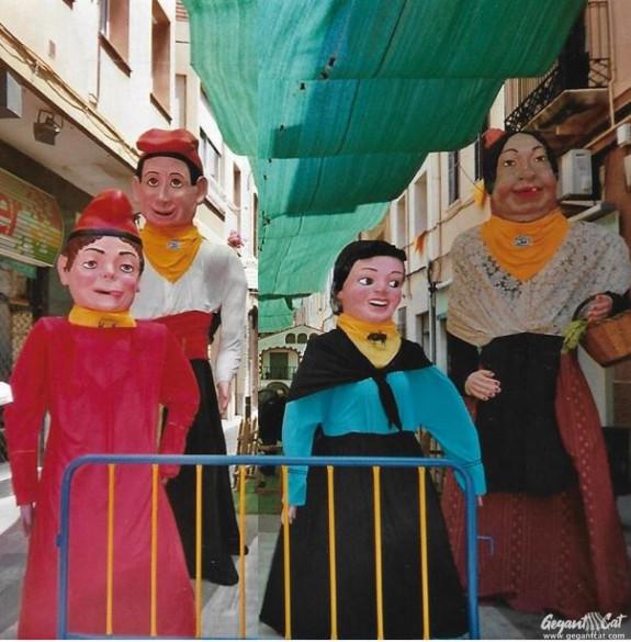 Gegants del Carrer Pere Grau del Masnou