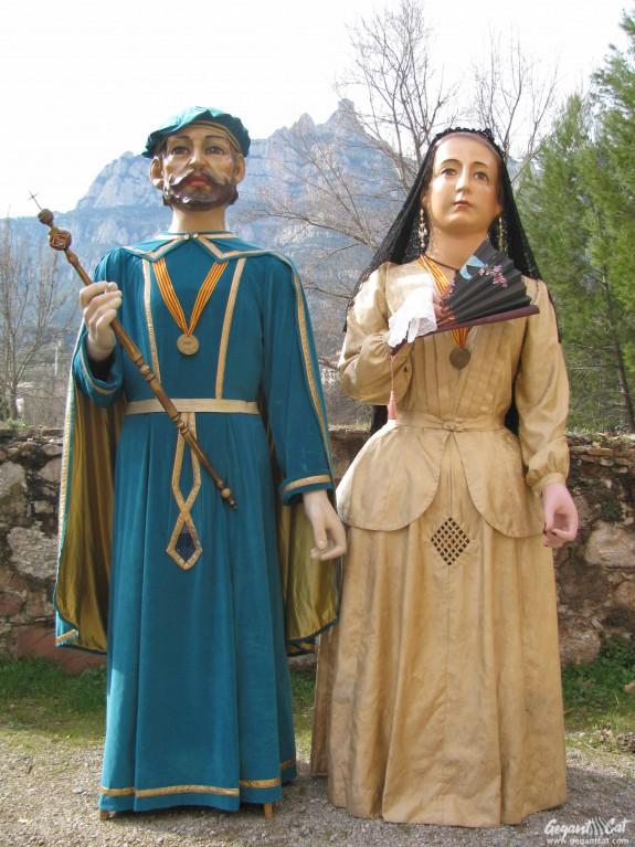 Gegants del Carrer Viserta de Monistrol de Montserrat