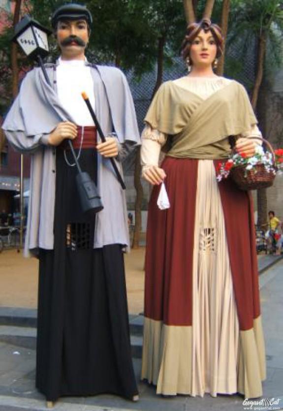 Gegants del Casc Antic de Barcelona