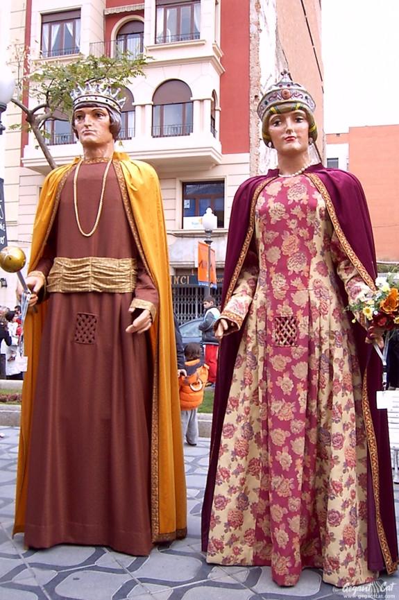 Gegants del Col·legi Sagrat Cor de Tarragona