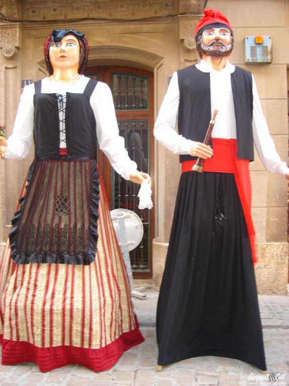 Gegants del Grup de Colònies Montbrió