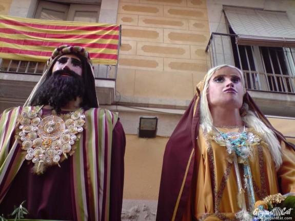 Gegants del Passeig Torroja de Tarragona