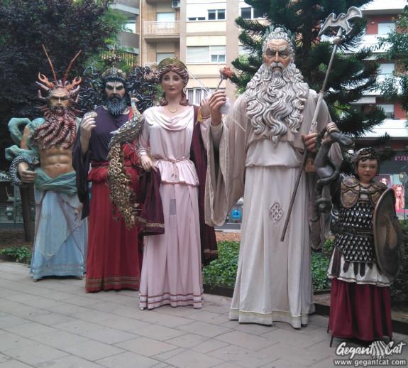 Gegants Déus de l'Hospitalet de Llobregat - Drac d'Or