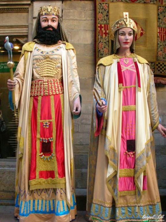 Gegants Faraons de la Paeria de Lleida