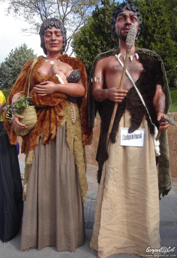 Gegants Neolítics de l'Espluga de Francolí