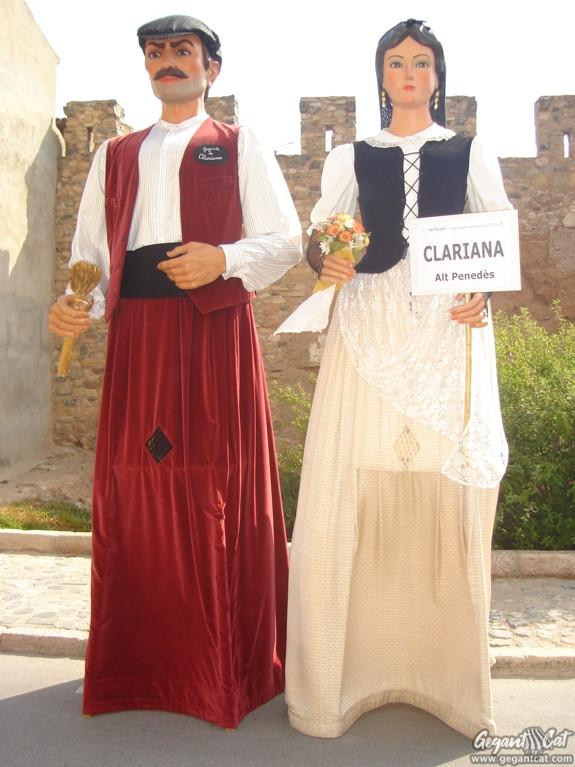 Gegants Nous de Clariana