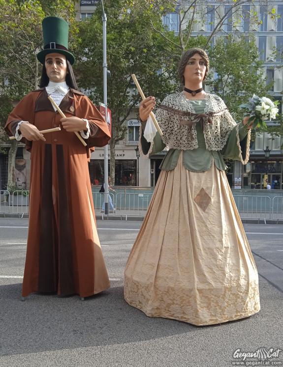 Gegants nous de la Casa de la Caritat de Barcelona o del Corpus