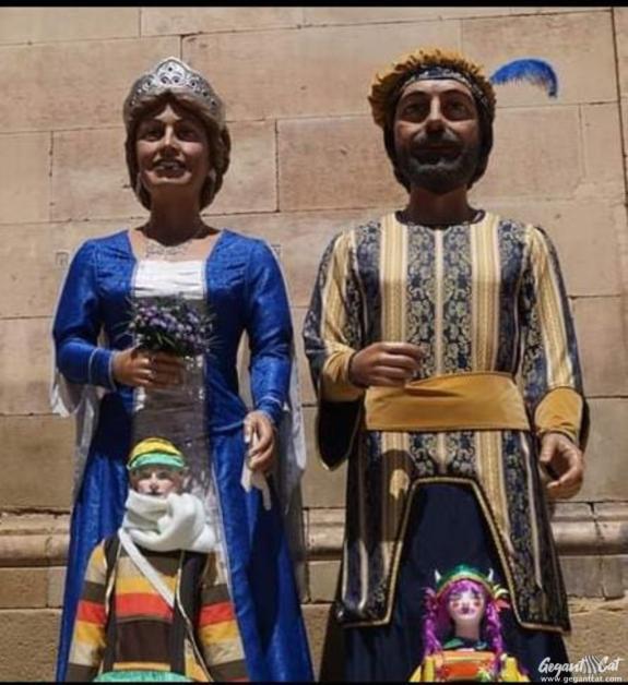 Gegants nous de la Seu d'Urgell