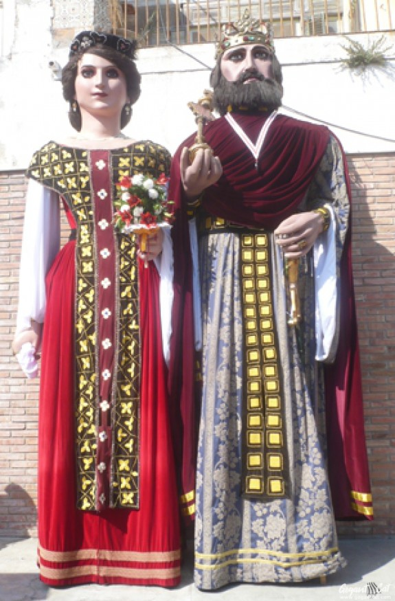 Gegants Nous de la Vila de Sitges