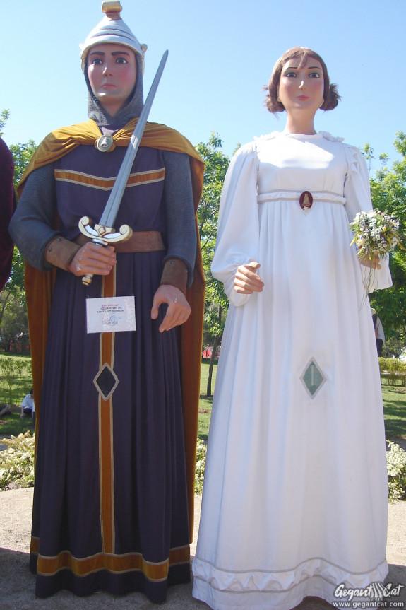 Gegants Nous de Sant Just Desvern