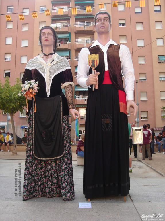 Gegants dels Barris de Ponent de Tarragona