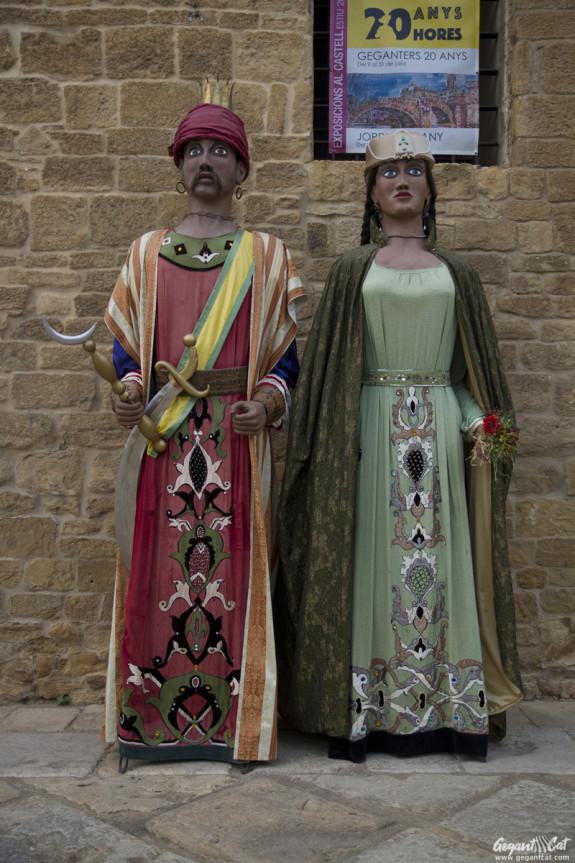 Gegants Perses de la Bisbal d'Empordà